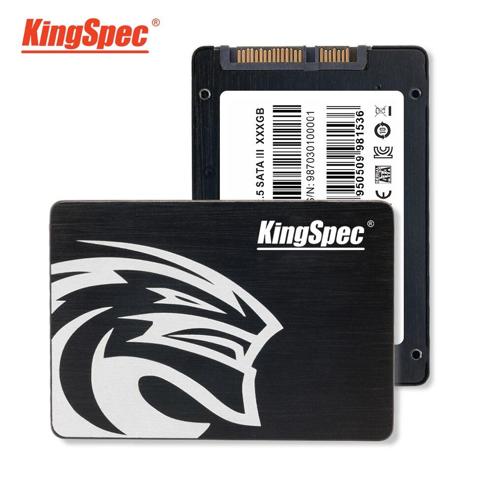 SATA3 SSD KingSpec 720 GB 2.5 ''SATAIII SSD 700 GB disque dur Noir Boîtier Métallique Solide State Drive Pour Ordinateur Portable ordinateur portable De Bureau - 2