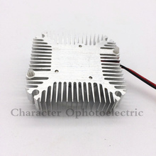 Aluminum Heatsink with fan for 5W/10W High Power LED light Cooling Cooler DC12V 2pcs  недорго, оригинальная цена
