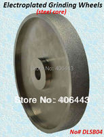 6 150mm Electroplated Grinding Wheels for Processing Lapidary Gemstone and Glass, with Diamond Grit# 46 / 60 / 80 / 120