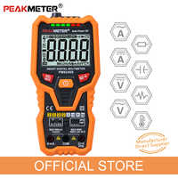 PM8248S Smart AutoRange Professionelle Digital-Multimeter Voltmeter mit NCV Frequenz Hintergrundbeleuchtung Temperatur Transistor test