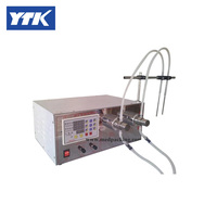 5ml To Unlimited Magnetic Gear Pump Filling Machine With Double Head For Liquid