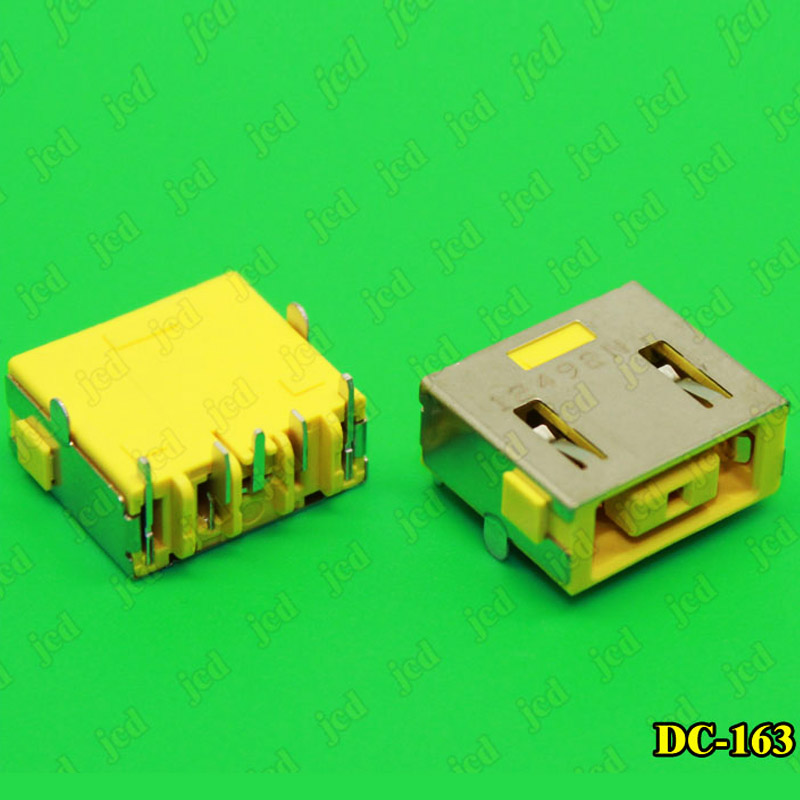 Image 2 - ChengHaoRan 1X DC Power Jack Connector for LENOVO G400 G490 G500 G505 Z501 DC JACK 5pin OGA 13 X1 Carbon yellow Square PORT-in Computer Cables & Connectors from Computer & Office