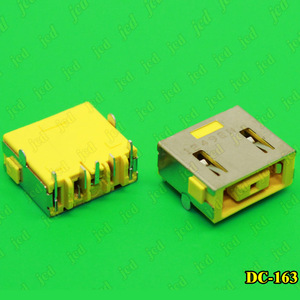 Image 2 - ChengHaoRan 1X DC Power Jack Connector for LENOVO G400 G490 G500 G505 Z501 DC JACK 5pin OGA 13 X1 Carbon yellow Square PORT