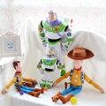 30 cm/40 cm/50 cm Buzz lightyear Woody anime boneca de pelúcia bonito crianças brinquedos presente de Natal das crianças aniversário