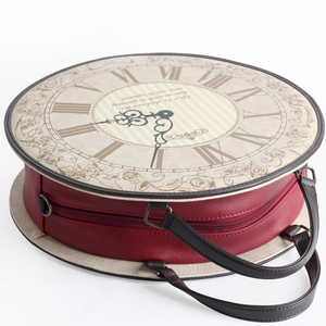 Image 2 - Vintage Round Clock Designer Bag Japan Lolita Style 3 Ways Shoulder Bag Lady Girls Alice Handbag Back pack