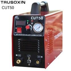 220V Мощность 50A МОП инвертор DC плазменного резака аппарат для воздушно-плазменной резки инструменты оборудование для резки