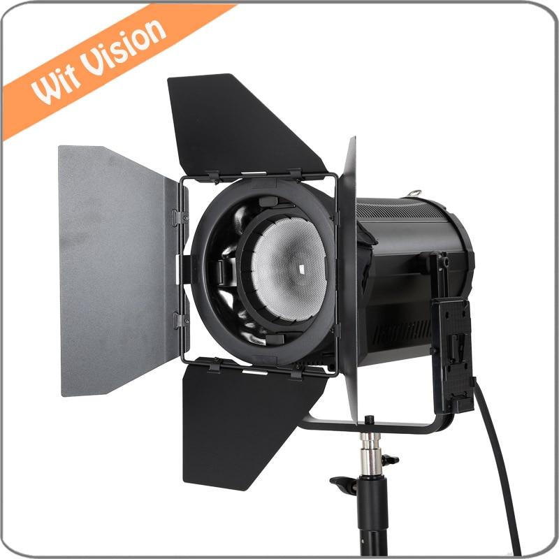 Falcon Eyes 160W LED Fresnel Light DLL-1600TDX Ra95 3000K-8000K DMX Vlock Plate аксессуар falcon eyes dea bhc 160 180mm