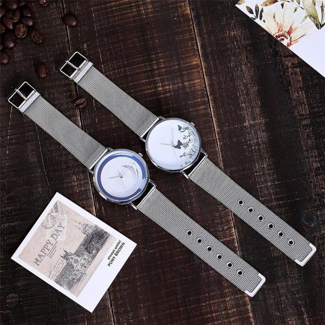 CCQ Casual Quartz Stainless Steel Band Marble Strap Watch Analog Wrist Watch ladies watches top brand luxury clock women vintage