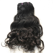2pcs/lot Virgin Indian Natural Curly hair weaves; 100% Unprocessed Indian temple hair natural luster very soft 12-22″ available