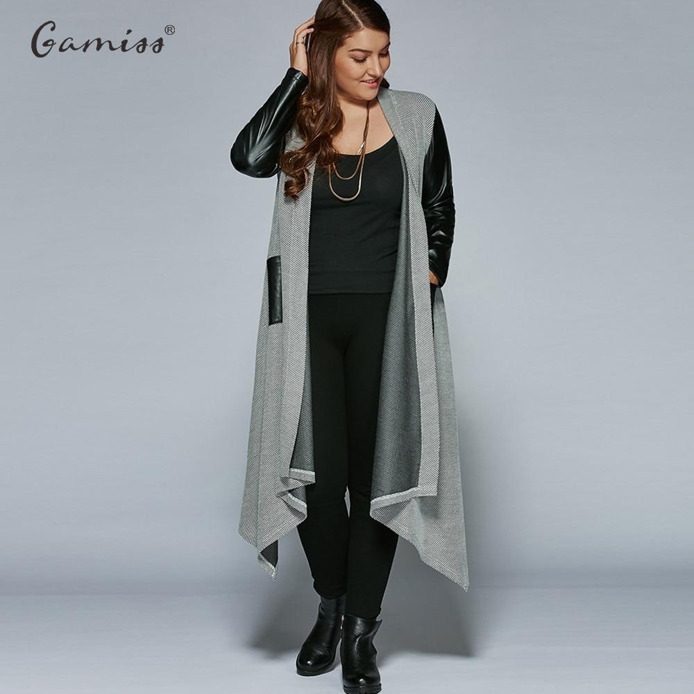 Haus & Garten Wipalo Herbst Plus Größe Pu Leder Trim Longline Asymmetrische Mantel Jacke Frauen Casual Faux Günstige Bomber Jacke Femininas Xl-5xl