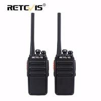 2pcs Retevis RT24 Walkie Talkie 0 5W 2W UHF 400 470MHz PMR446 License Free VOX Scan