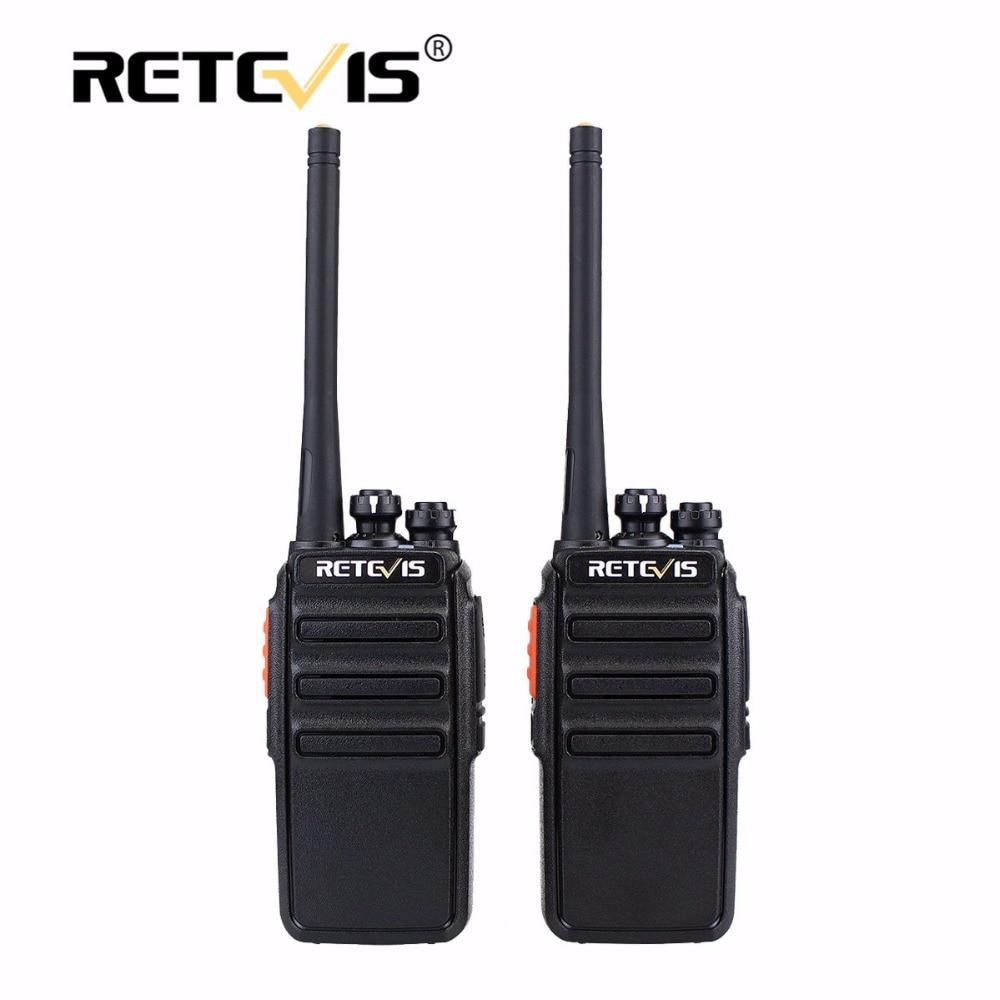 2шт Retevis RT24 Walkie Talkie 0.5W / 2W UHF 400-470MHz PMR446 - Рації