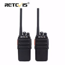 2pcs Retevis RT24 Walkie Talkie 0.5W / 2W UHF 400-470MHz PMR446 VOX sin licencia Scan Two Way Radio A9123