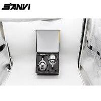 Guangzhou Auto Light High Quality 5500k 6000k Car LED Headlight Bi Xenon Projector Lens Bi LED