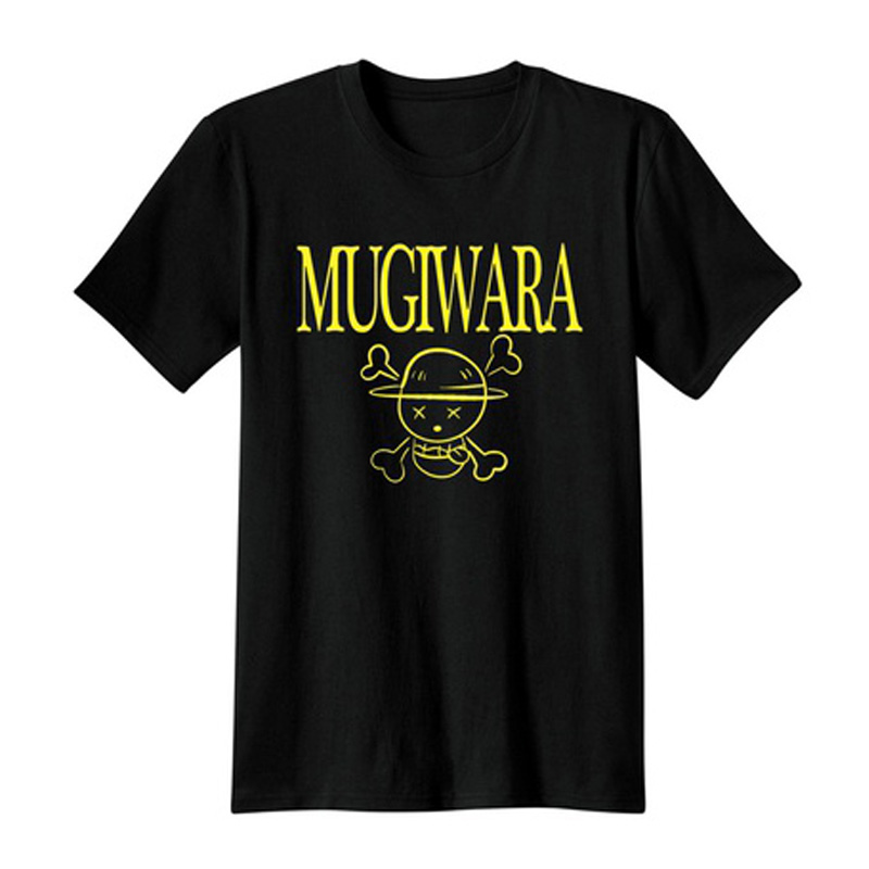 One Piece Mugiwara T-Shirt Unisex classic Anime Tops Tees casual t shirts cartoon printed male tshirts cotton tops camisetas