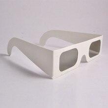 828015518 O envio gratuito de 100 pçs/lote Linear Polarizada Óculos 3D de Papel em  45/135 graus óculos 3d polarizados