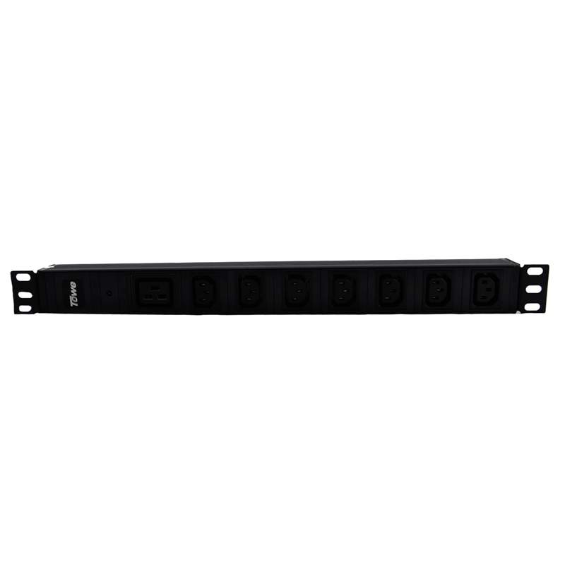 TOWE EN16/I805 16A 8 WAYS IEC320 C13 WITH SPD PDUs Cabinet socket  Power distribution Units