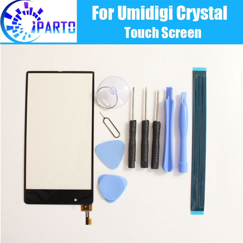 Umidigi Crystal Touch Screen Glass 100% Guarantee Original Digitizer Glass Panel Touch Replacement For Umi Crystal+Gifts
