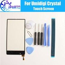 Umidigi kryształowy ekran dotykowy szkło 100% gwarancja oryginalny Panel dotykowy szkło Digitizer wymiana dla Umi Crystal + prezenty