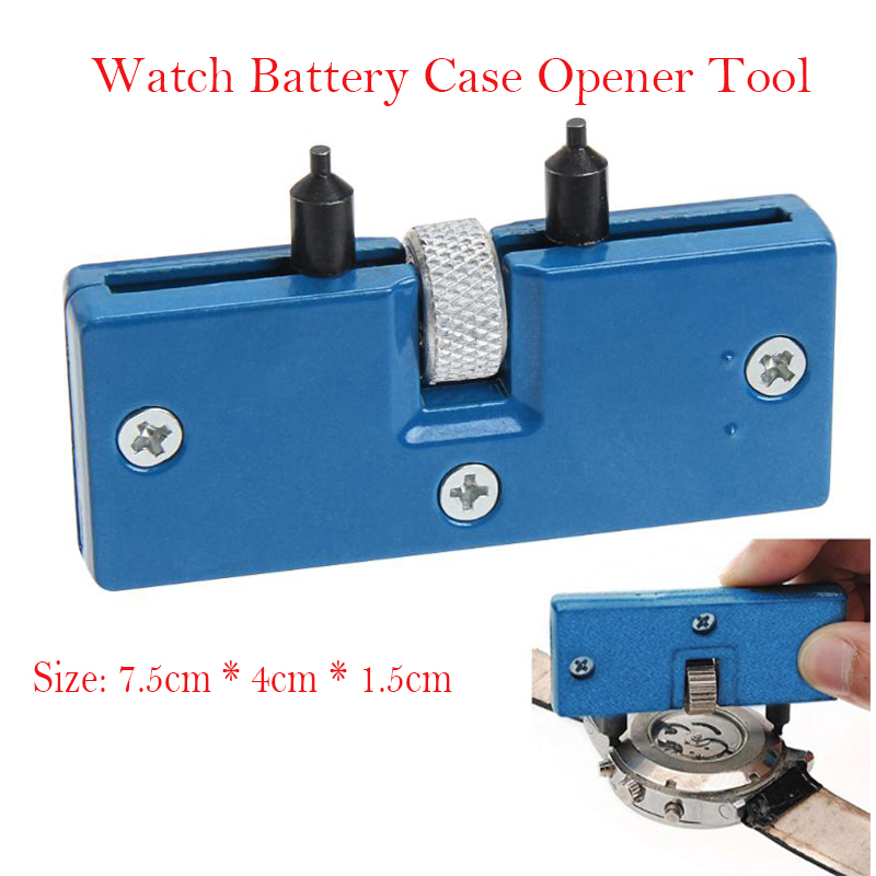 Jocestyle Watch Repair Tool Kit Adjustable Back Case Opener Spanner Cover Remover Screw Watchmaker Open Battery Change Wholesale цена
