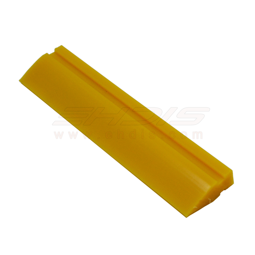 EHDIS 10cm Yellow Turbo Squeegee Blade Spare Rubber Glue Air Bubble Remove Squeegee Car Ice Scraper Window Clean Tool A77Y-10CM leds c4 rocket 00 3280 16 16