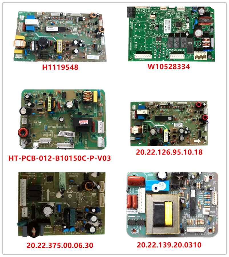 H1119548 W10528334| HT-PCB-012-B10150C-P-V03|20.22.126.95.10.18| 20.22.375.00.06.30| 20.22.139.20.0310 Used Good Working