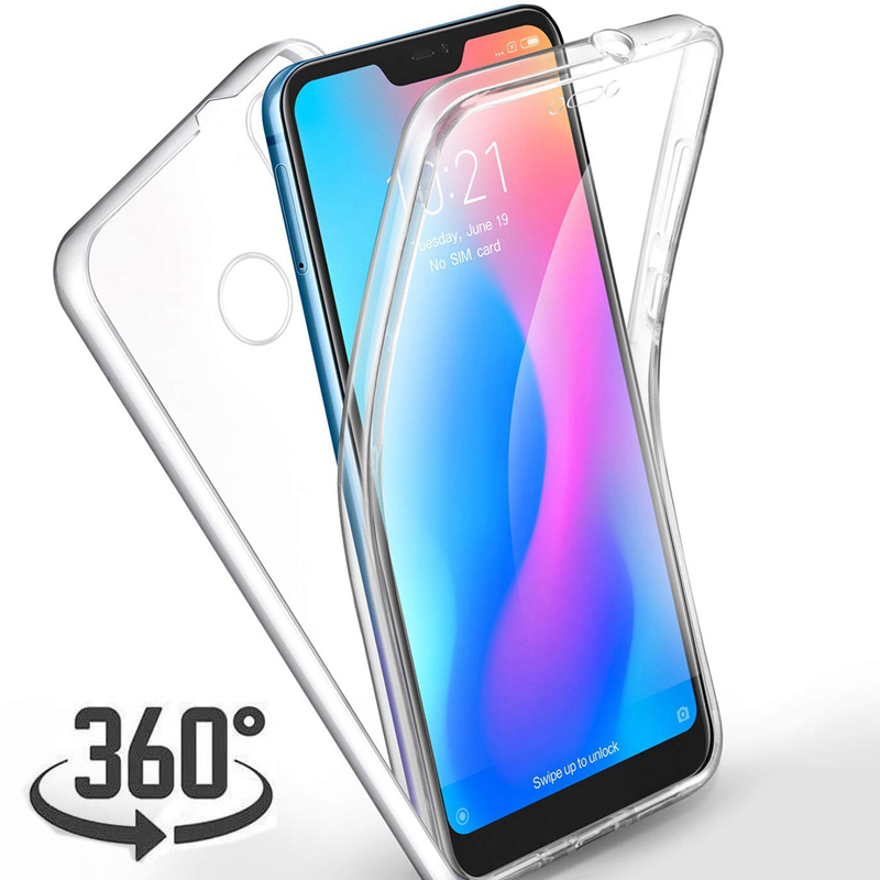 360 градусов противоударный чехол для телефона для Xiao mi Pocophone F1 mi A1 A2 Lite mi 8 SE 5X 6X Red mi Note 4 4X5 плюс 5A 6 Pro 6A S2 Coque