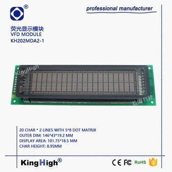KH202MDA2-1 Vacuum Fluorescent Display Module VFD Screen