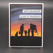 Family Metal Cutting Dies for Scrapbooking
