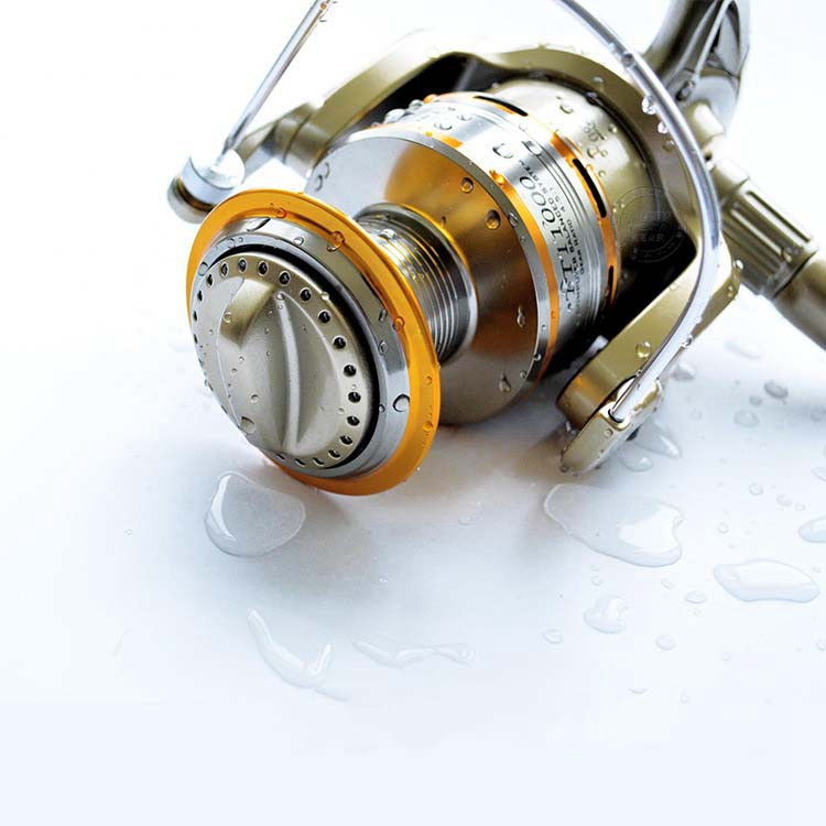 Cheap 1000-11000 Series Spinning Fishing Reel Saltwater 11 Bearing Trolling Sea Surf Casting Reels Low Profile Wheel China  (13)