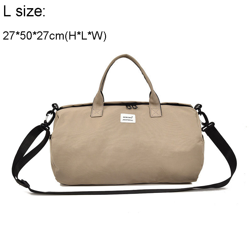 Canvas Shoulder Sports Gym Bag For Women Fitness Yoga Training Bags