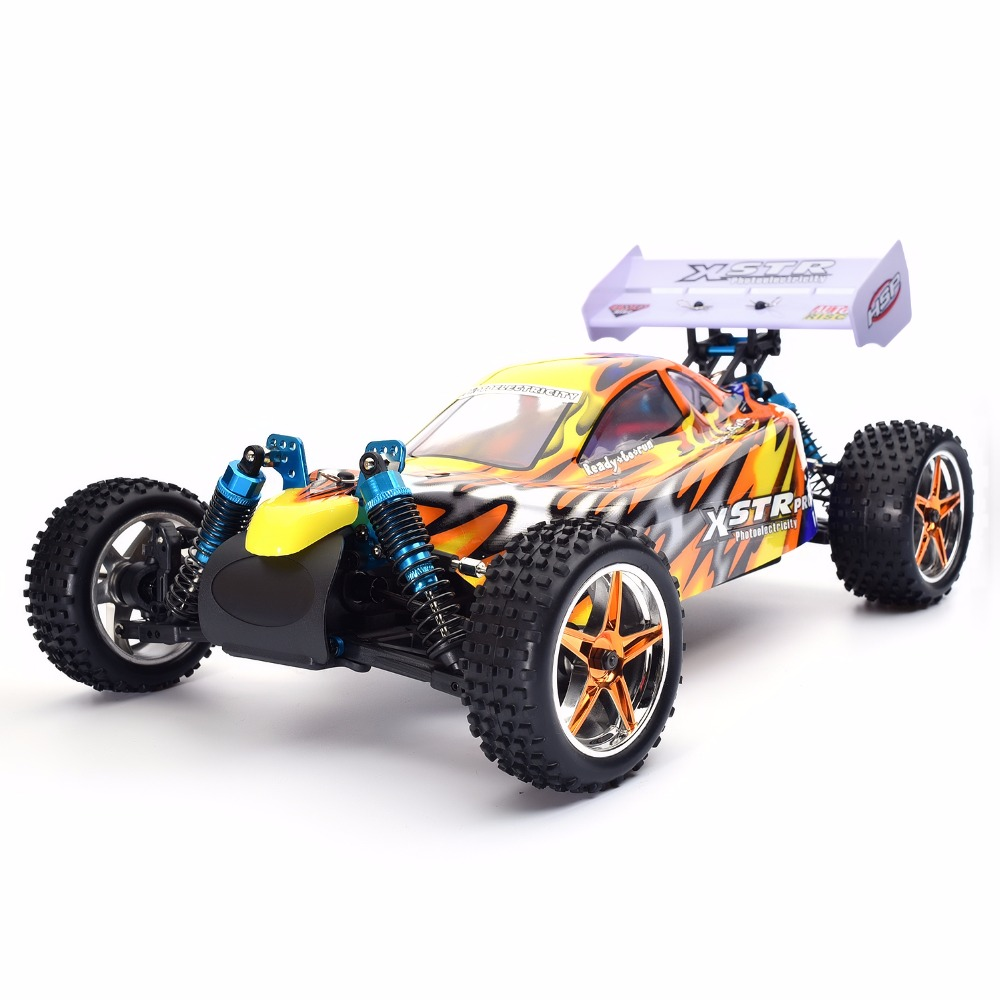HSP Rc Car 1/10 Electric Power 4wd Off Road Buggy 94107PRO High Speed Hobby Remote Control Car 02023 clutch bell double gears 19t 24t for rc hsp 1 10th 4wd on road off road car truck silver