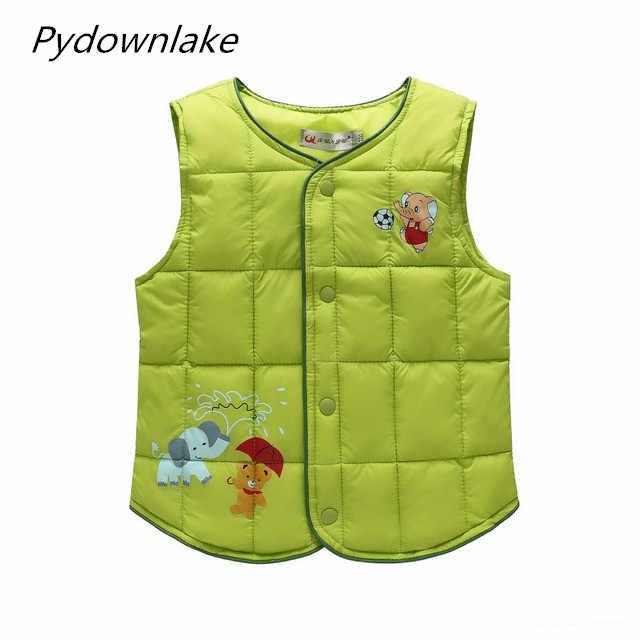 Chaleco para niños, chaleco de primavera, chaleco para niñas, ropa para bebés, ropa de invierno, 2018 niños, chaqueta sin mangas 2 T-8 T