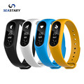 2016 Original M2S OLED display Heart Rate Monitor Smartband Health Fitness Tracker for Android iOS as good as Xiaomi Mi band 2
