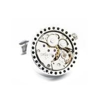 Рекламная акция нефункциональные запонки для часов с бриллиантами