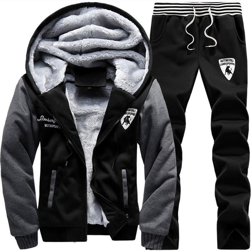 2018-Brand-New-Men-Set-Fashion-Winter-Tracksuits-Thick-Lined-Hoodies-Sweatshirt-Pants-Track-Suit-Mens