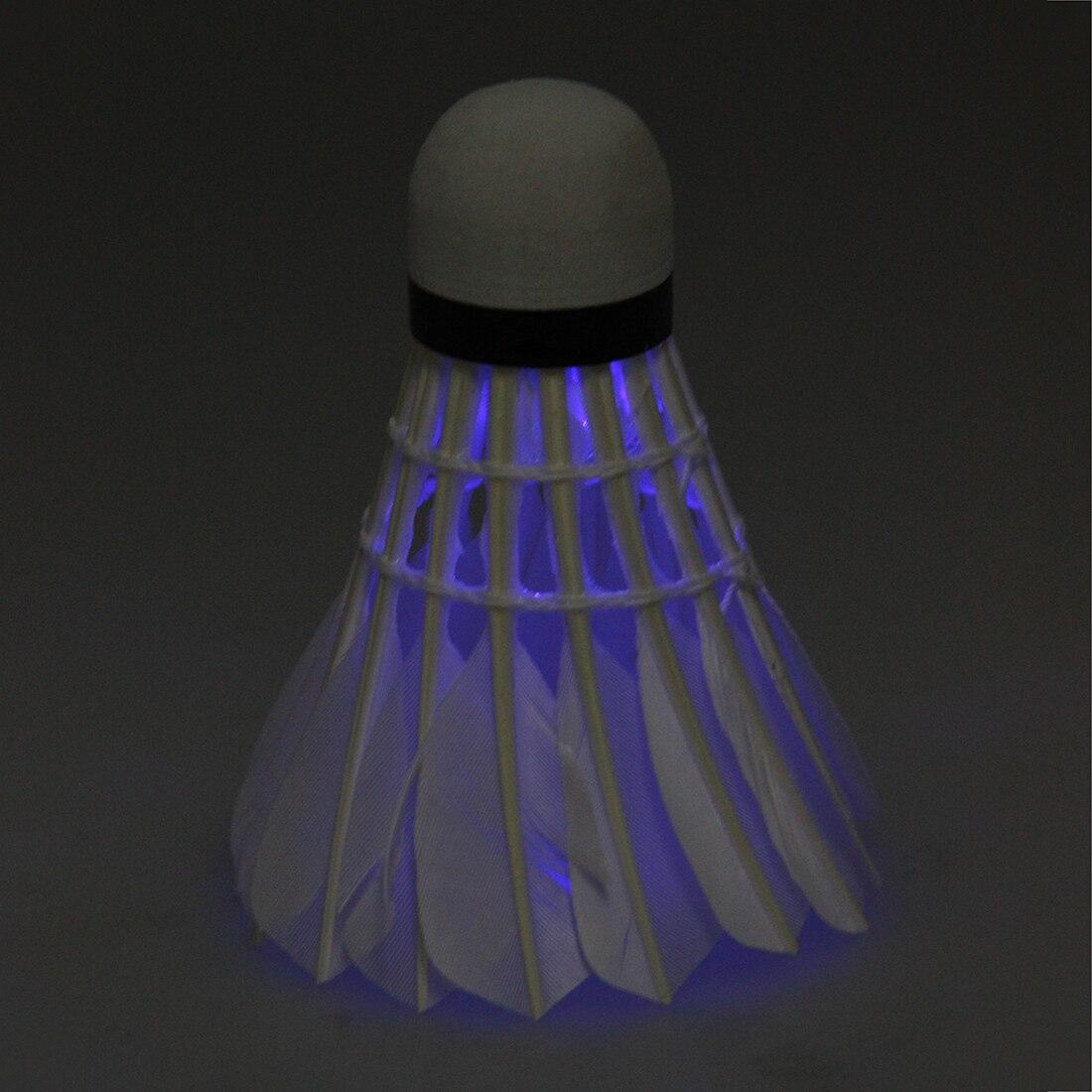 5Set Sale Dark Night LED Badminton Shuttlecock Birdies Lighting (Pack of 3) (blue)