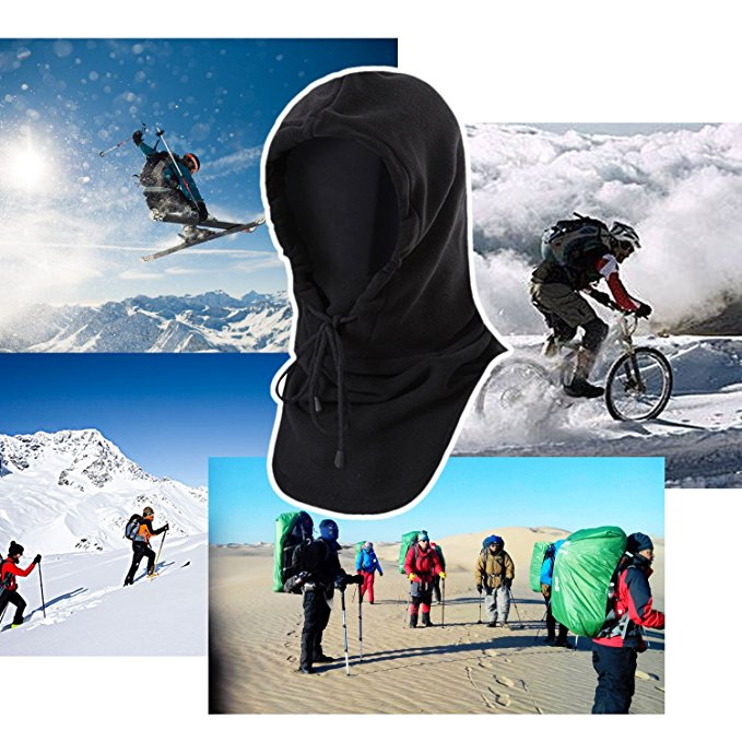 New Outdoor Sport Cycling Cap Windproof Neck Warm Motorcycle Cap Hat Bicyle Thermal Scarf  Men Women Ski Face Mask Head Cap sahoo 46864 3 in 1 outdoor cycling warm polyester fleece hat face cover for men black xl