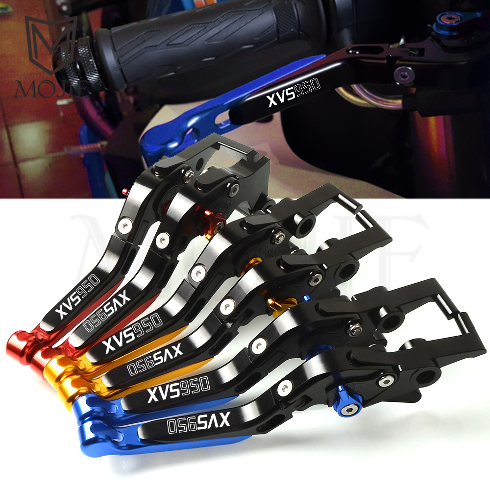 For <font><b>Yamaha</b></font> <font><b>XVS950</b></font> XVS 950 BOLT 2014-2018 2015 2016 2017 Motorcycle CNC <font><b>XVS950</b></font> Adjustable Folding Extendable Brake Clutch Levers image