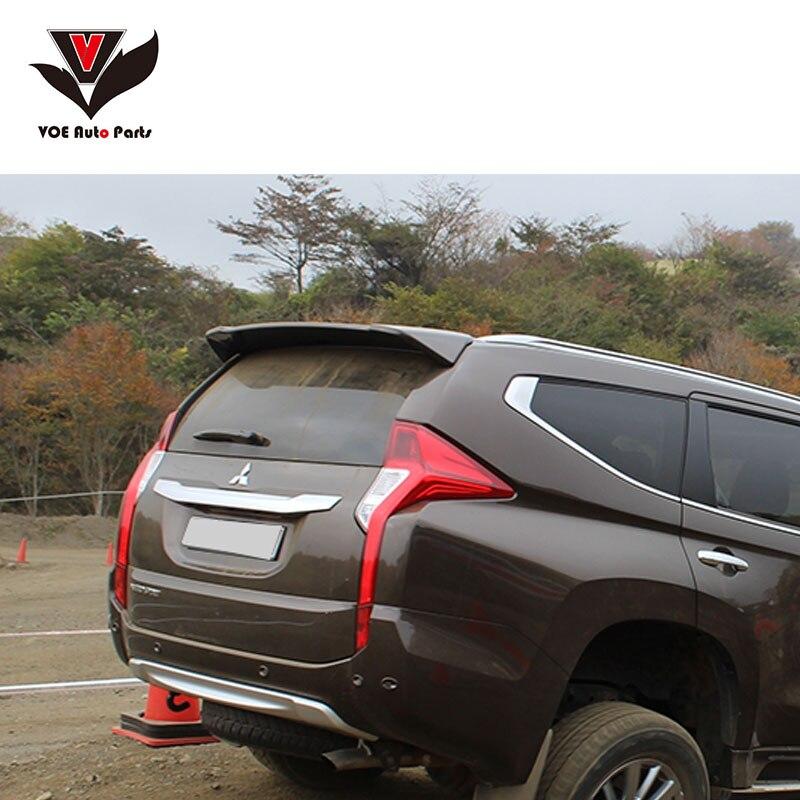VOE Pajero Sport 2016+ Spoiler ABS Plastic Material Rear Wing Spoiler For Mitsubishi PAJERO SPORT 2016 2017