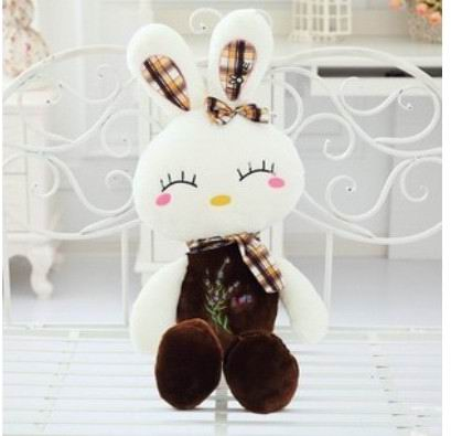 2015 new arrival Hight Quality Soft 60cm Lovely Stuffed  Dolls Plush Toy cute  Rabbit Doll Christmas Girl Birthday Gift super cute plush toy dog doll as a christmas gift for children s home decoration 20