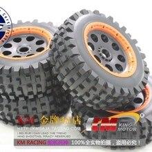 1/5 шкала Нижняя крышка 5T Desert T1000 шины передние и задние колеса и шины для мотоциклов/комплект