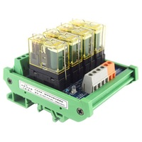 Relay single group module 4 way compatible with NPN/PNP signal output PLC driver board control board