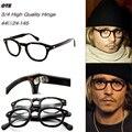 Alta Qualidade 2 Tamanho Estilo Johnny Depp Óculos Homens Mulheres Óculos de Prescrição Espetáculo Óptico Quadro Redondo Retro Do Vintage