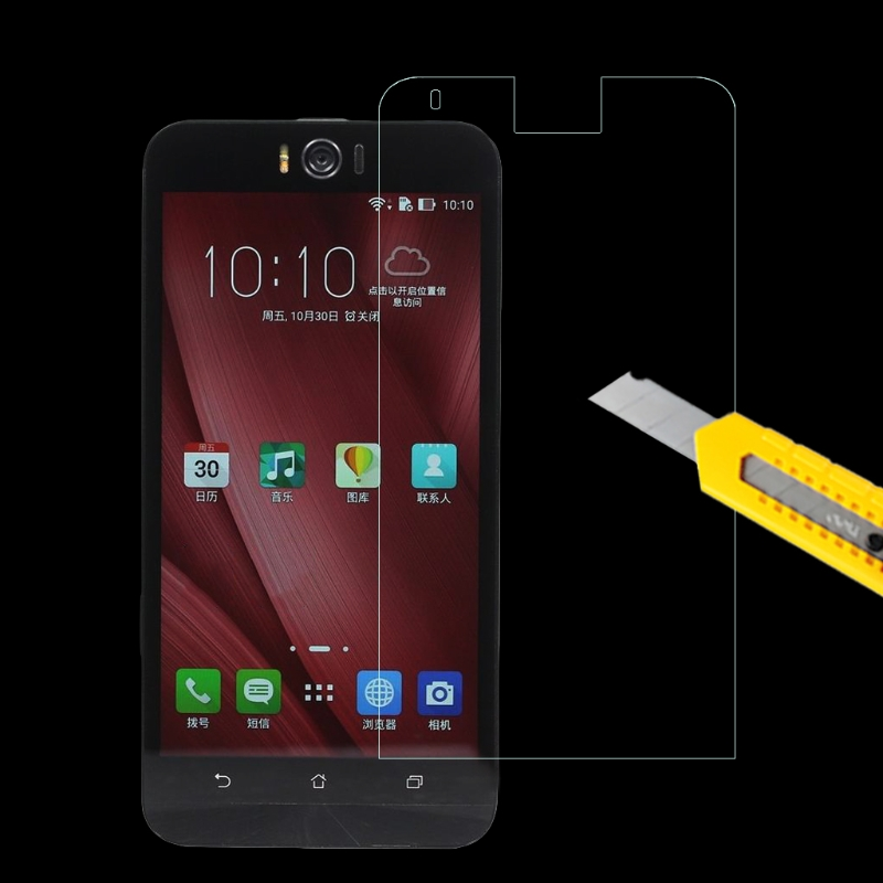 9H+ Real Premium Tempered Glass Screen Protector For Asus Zenfone Smart Phones
