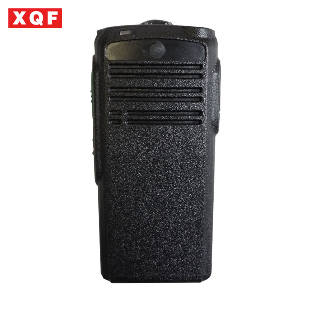 XQF New Housing Case Front Cover Panel Shell Surface +Knob Hat For Motorola CP1200 Radio Accessories