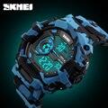 Moda casual marca à prova d' água relógio digital de skmei homens esportes militares relógios g estilo led mens vestido relógios de pulso