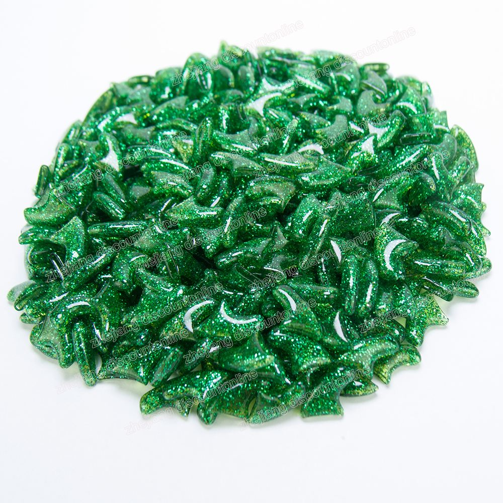 Green gillter