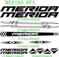 Bike sticker decal MTB High quality Reflective Frame cycling protector wheel fork bicycle stickers