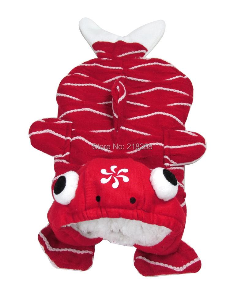 Shitje me pakicë Veshja e Re Veshja me Stilet e Kuqe të Peshkut të - Produkte për kafshet shtëpiake - Foto 4